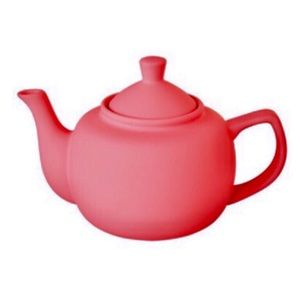 CB2 Rubber Silicone Finished Teapot in Candy Pink